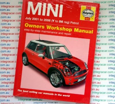 haynes workshop service repair manual book mini cooper
