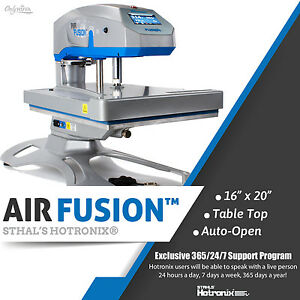 hotronix dual air fusion manual