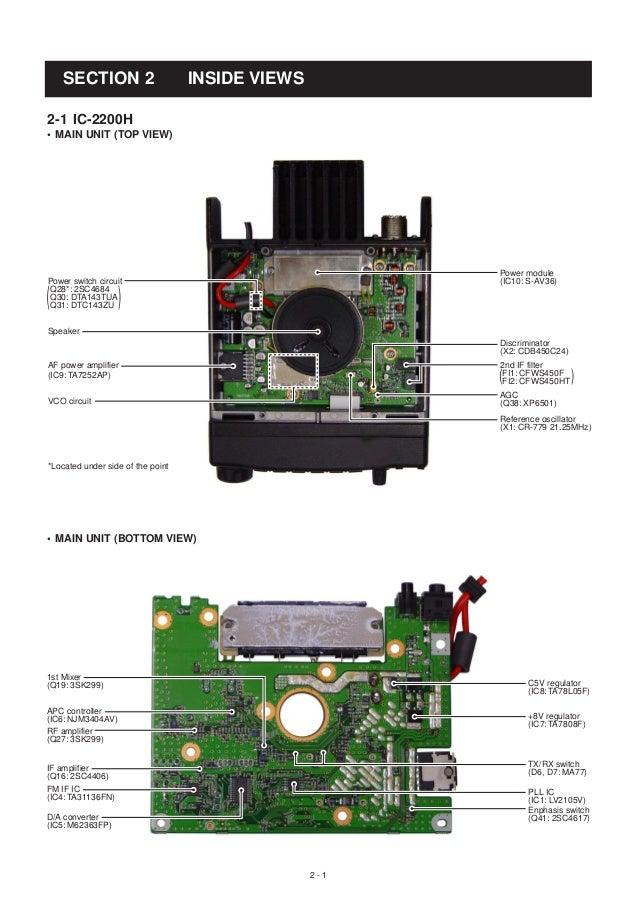icom ic m700pro service manual
