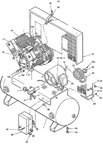 ingersoll rand 2475f13gh parts manual