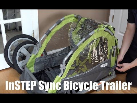 instep single bike trailer manual