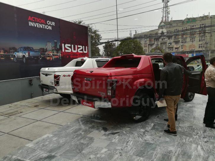 isuzu dmax automatic transmission manual mode