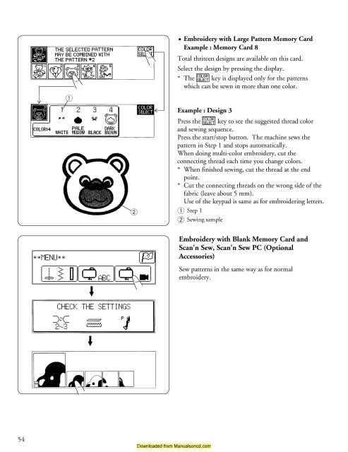 janome harmony 4052 user manual