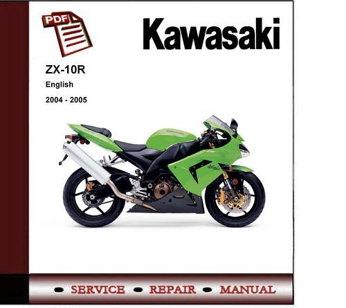 kawasaki zx10r 08 service manual
