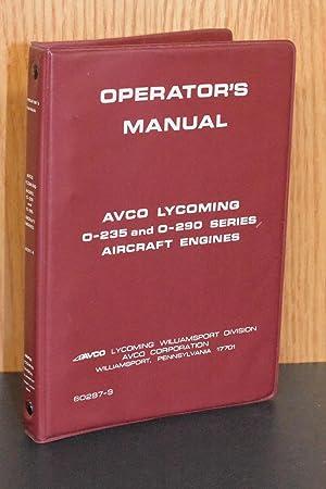 lycoming 0-540 operators manual
