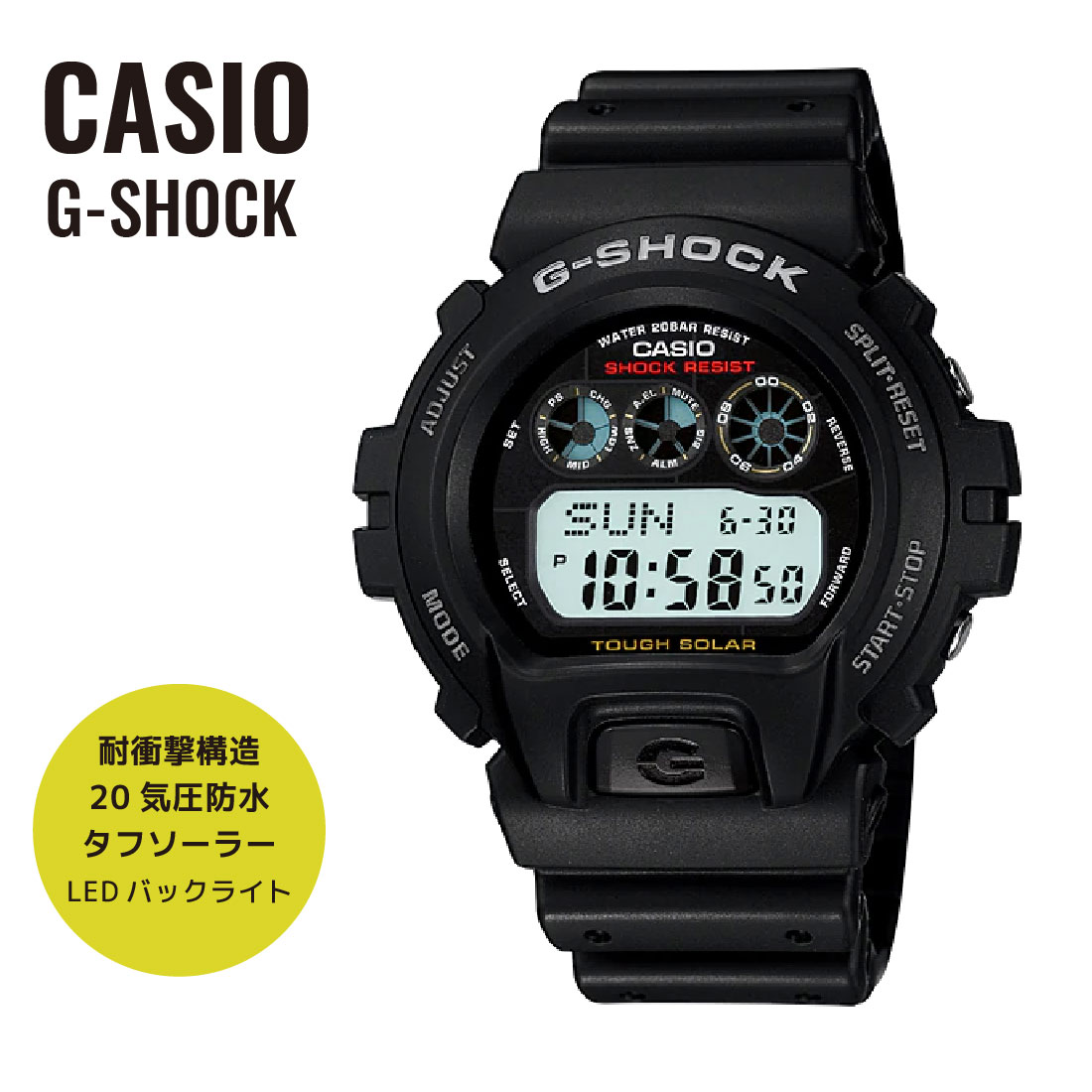 manual for casio g-6900 watch