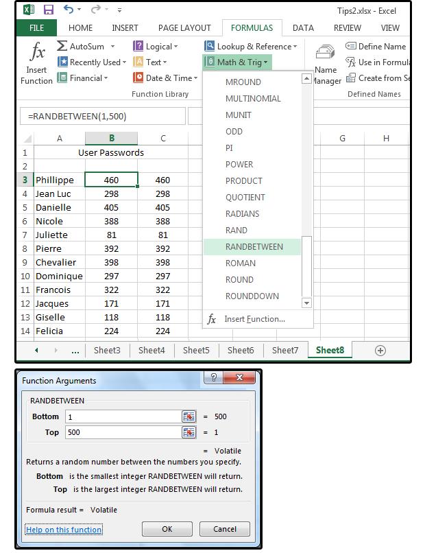 manual random number generator between minn and max