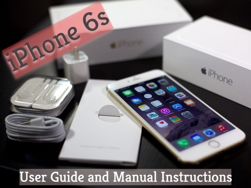 pdf user manual iphone 6s