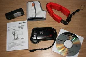 sanyo xacti waterproof camcorder manual
