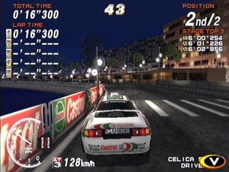 sega rally arcade machine manual