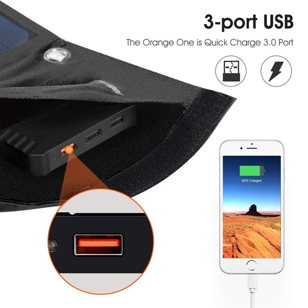 suaoki solar usb charger manual