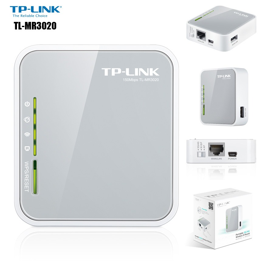 tp link portable router manual