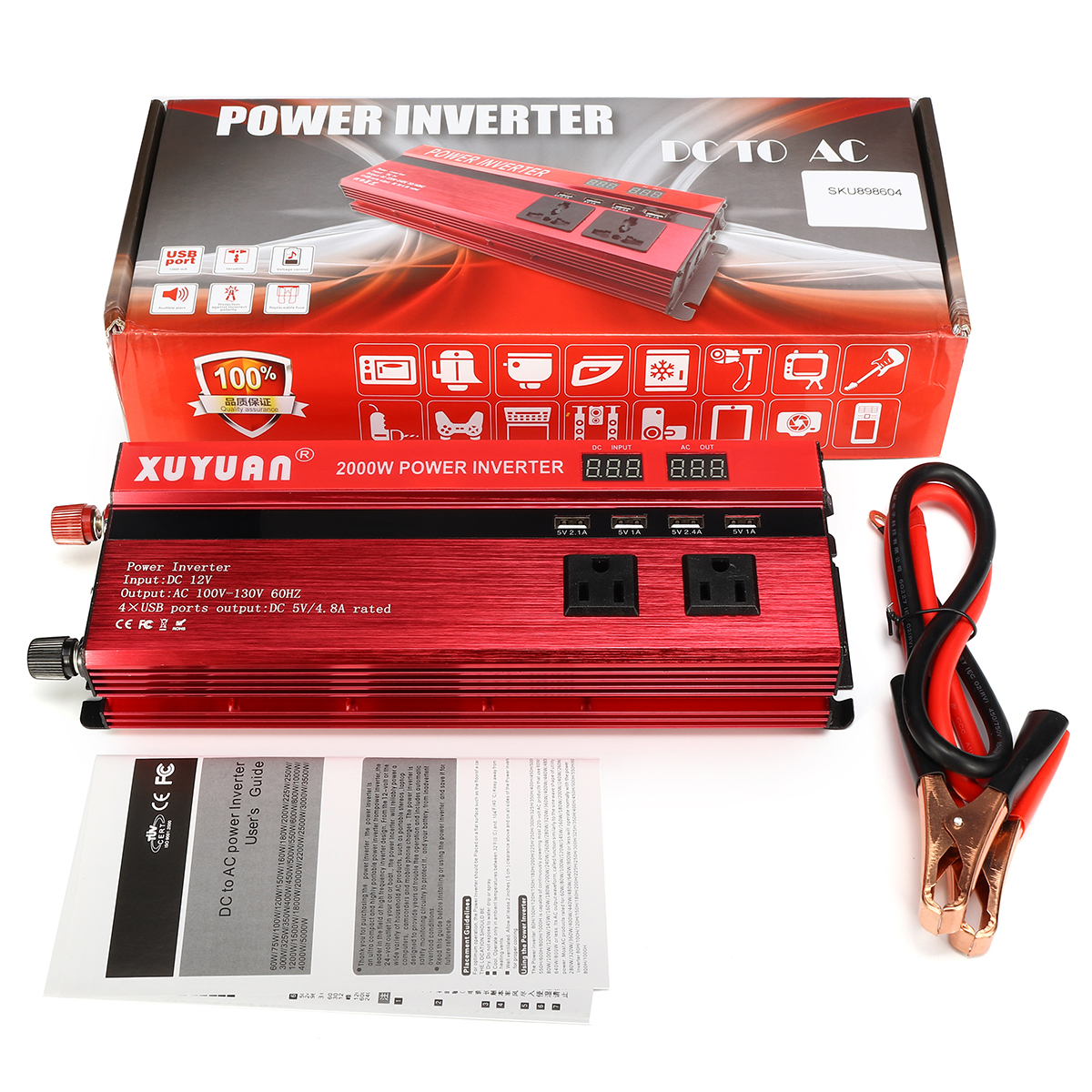 tpe 2000w inverter generator manual
