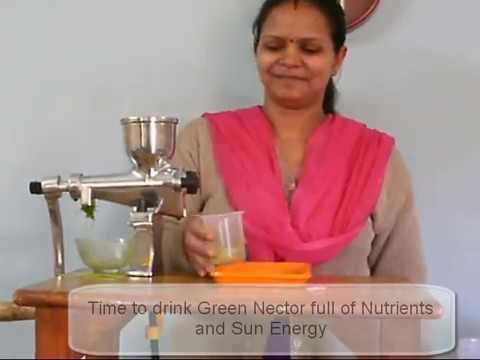 youtube manual press juice extractor